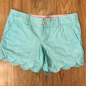 Lilly Pulitzer Buttercup shorts size 0